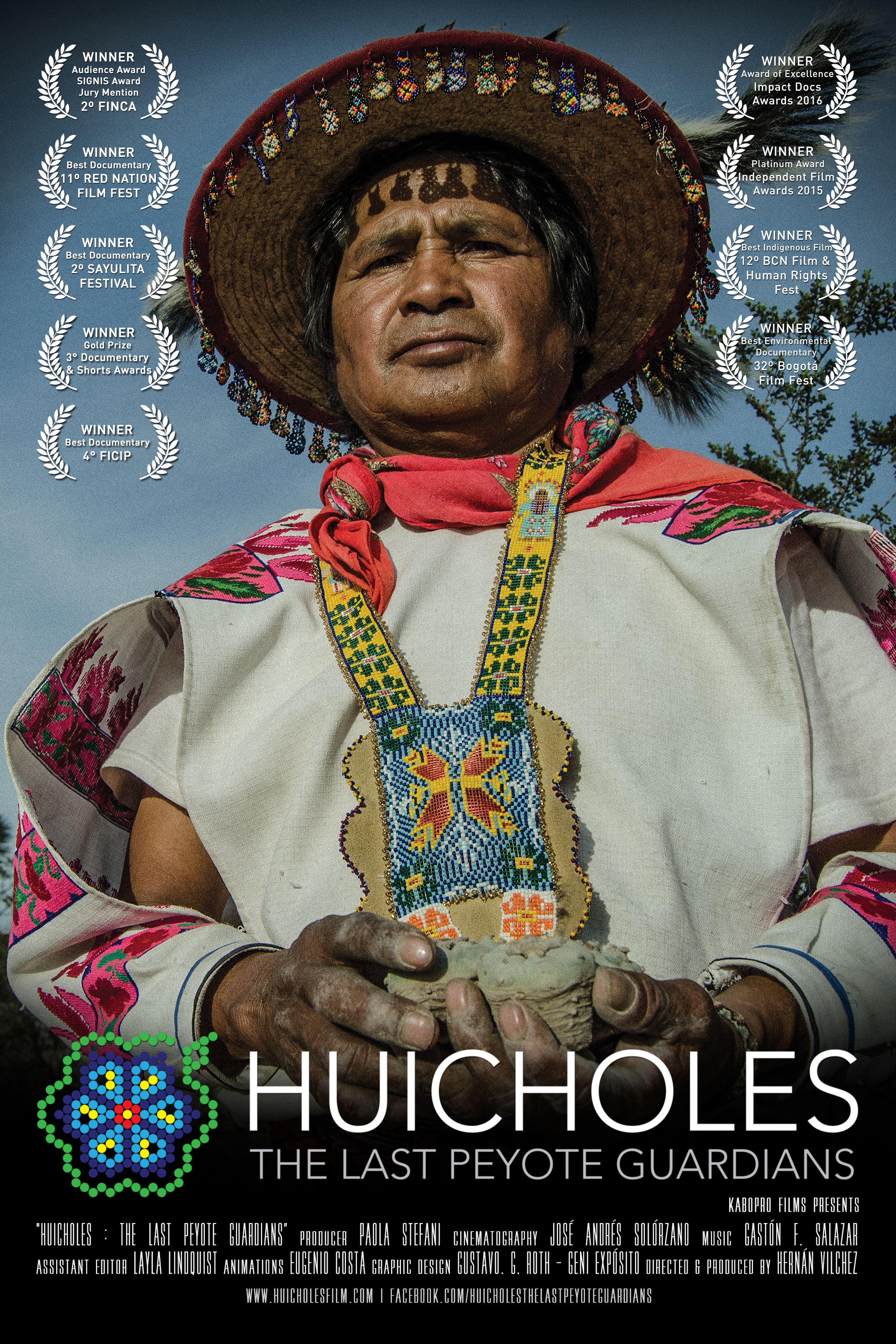 Gd Usa Award 2016 In House Design: Huicholes: The Last Peyote Guardians